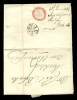 GB PRE-STAMP 1794 LONDON to HUDDERSFIELD + LETTER