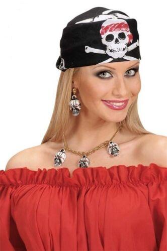 Kopftuch Pirat Zandana Bandana Halstuch  Mütze  Cap Sommer Helloween Karneval