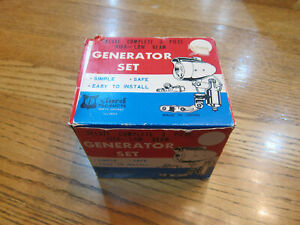 Oxford Deluxe Generator Front And Rear Light Set Complete In Box