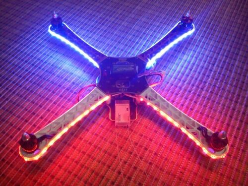Drone LIFETIME Warranty Multicopter Cree Style LED light strip FREE Switch