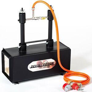 DFPROF2-GAS-PROPANE-FORGE-Furnace-Burner-Knife-Making-Blacksmith-Farrier