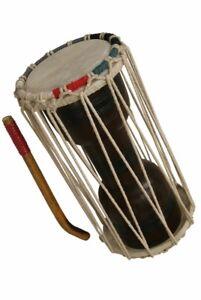16-034-banjira-Deluxe-wooden-two-headed-034-talking-034-Drum