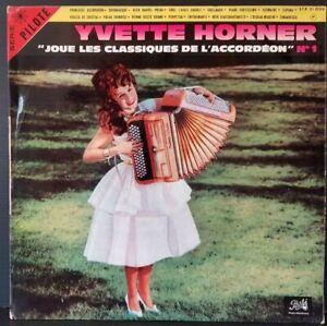 Scheibe-33-Time-Yvette-Horner-Spielt-Les-KLASSIKER-DER-Akkordeon-Nr-1