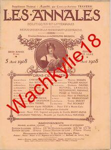 Les-annales-n-1293-du-05-04-1908-Cobaye-Institut-Pasteur-Mormons-Saint-Saens