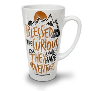 Take Adventures NEW White Tea Coffee Latte Mug 12 17 oz   Wellcoda