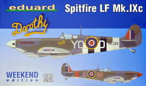 Eduard-1-48-Model-Kit-84151-Spitfire-LF-Mk-IXc-Weekend-Edition