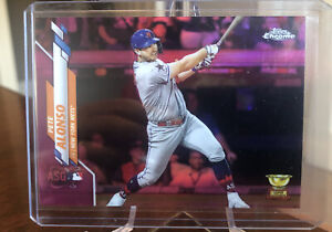 2020 Topps Update Chrome PETE ALONSO #U-84 PINK REFRACTOR All-Star Mets