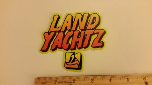 LAND YACHTZ STICKER SURF SKATE PADDLE