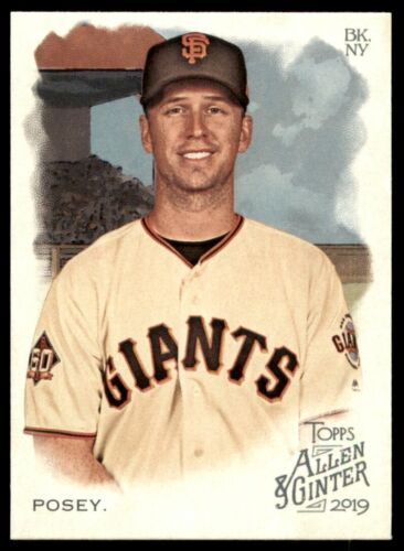 2019 Topps Allen /& Ginter Base #52 Buster Posey