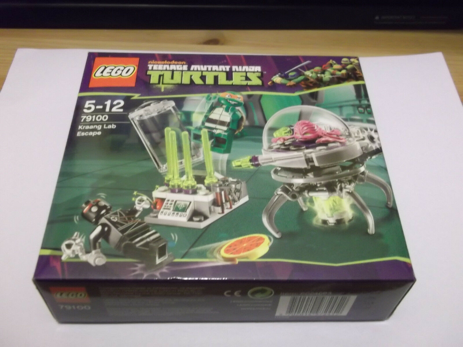 Lego Teenage Mutant Ninja Turtles 79100 KRAANG LAB ESCAPE Factory Sealed