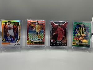 2019-20 Soccer Panini Chronicles And 3 Soccer Prizm Inserts!!!