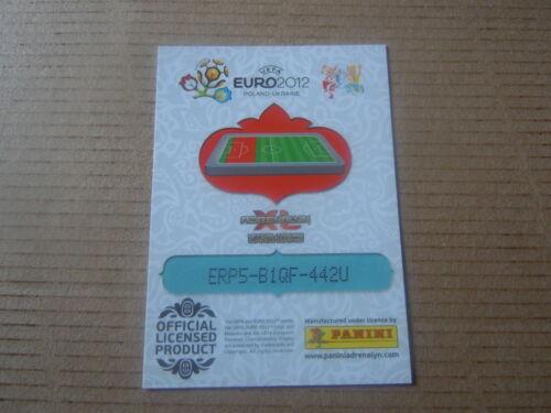 République Tchèque Euro 2012 Zdenek Pospech Carte adrenalyn panini
