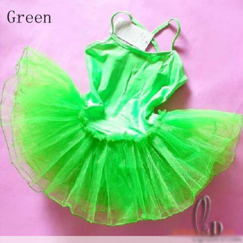 AU SELLER Dance Ballet Tulle Tutu Leotard Layered Dress For Girls da001
