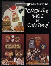 Cookies, Kids & Critters Tole Book by Juliet Martin~OOP
