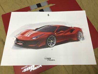 2019 FERRARI 488 PISTA hardcover brochure Prospekt catalogue 95993500