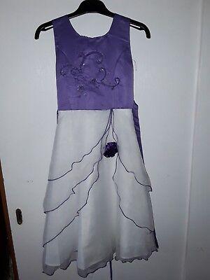 Ballkleid Blumenmädchenkleid Gr. 8 Gute QualitäT