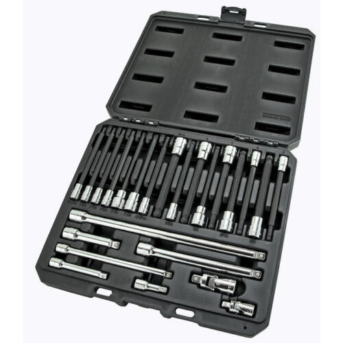 Craftsman 24 Piece 1//4 and 3//8 Inch Drive Reach and Access Torx Bit Add On Set