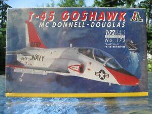 ITALERI-1-72-McDONNELL-DOUGLAS-T-45-GOSHAWK-173-factory-sealed