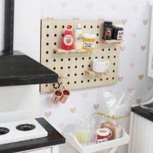 1-12-Dollhouse-Miniature-Wooden-Hole-Board-Storage-Rack-Furniture-AccessoriesSL