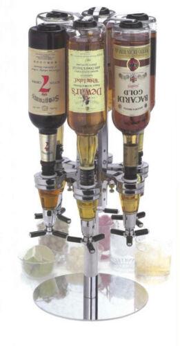 Bar Butler II Getränkeportionierer Tisch Flaschenhalter für 6 Flaschen