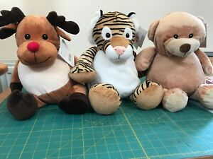 Embroider Buddy Stuffed Animals Toys Blanks For Embroidery Ebay