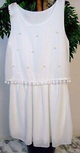 Maedchen-Kleid-mit-Perlen-Weiss-Hochzeit-Festlich-NEU-8-43