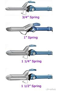 Babyliss Pro Nano Titanium Spring Curling Iron Choose Your