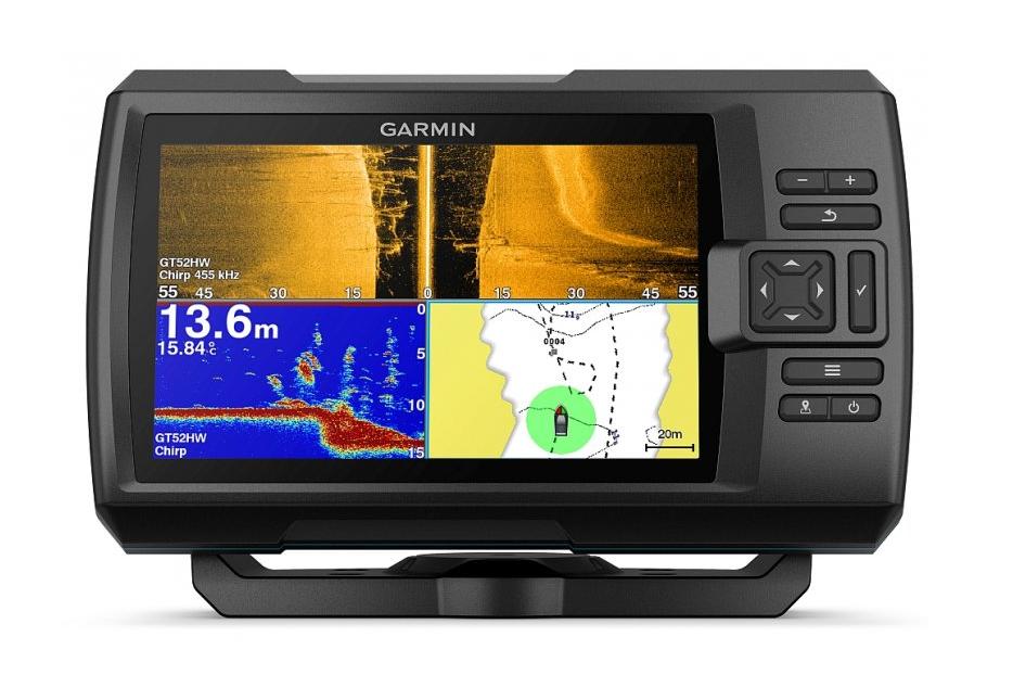 Garmin Striker ™ plus 7sv buscador buscador de peces con GPS y donantes medidor de profundidad