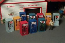 10 Old ERA HO SCALE SODA POP Vending Machines