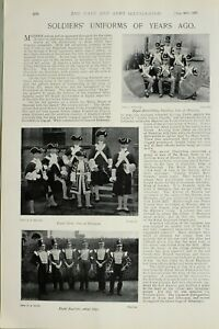 1897-PRINT-SOLDIERS-UNIFORMS-ROYAL-INNISKILLING-FUSILIERS-WATERLOO-ROYAL-SCOTS