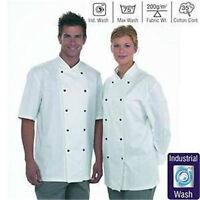 Dennys Lightweight Unisex L/sleeve Chefs Jacket Size Xl