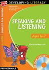 Speaking and Listening: Ages 6-7 by Christine Moorcroft (Mixed media product, 2009)