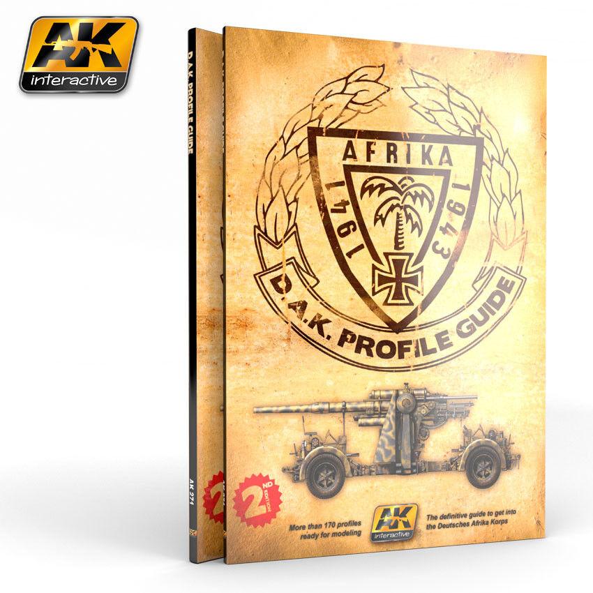 AK INTERACTIVE AK 271 German German German Afrika Korp D.A.K. Profile Guide Book FREE SHIP 45107f