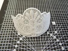 White Guipure Lace Motif ,Applique,Wedding,Trimmings  16cm x 7cm