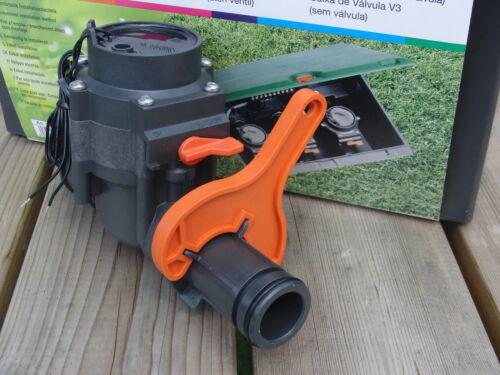 Clave válvula Gardena ventilbox v1 1254 v3 1255 1278 1251 24v 9v 6030 naranja