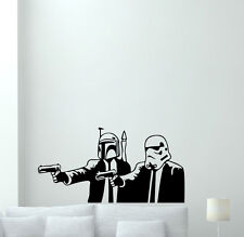 Pulp Fiction Star Wars Wall Decal Vinyl Sticker Movie Art Poster Decor 74bar