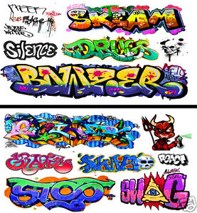 HO-Scale-Graffiti-2-Pack-22-Weather-Your-Box-Cars-Hoppers-amp-Gondolas