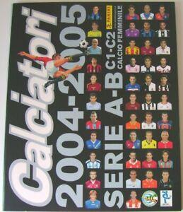 Calciatori-2004-2005-Album-Vuoto-Panini