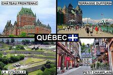 SOUVENIR FRIDGE MAGNET of QUEBEC CANADA