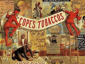 ADVERTISING-COPES-TOBACCO-SMOKING-PIPE-RETRO-JESTER-ART-POSTER-PRINT-LV634