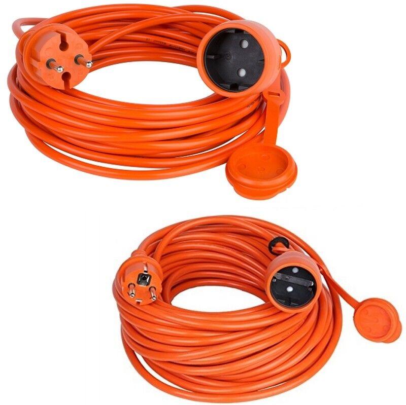 Verlängerungskabel Verlängerung Strom-Kabel Garten Orange 10 15 20 25 30 40 50 m  | Sale Outlet