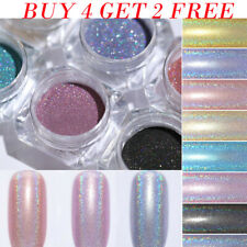 Holographicss Nail Glitter Powder Holo Mirror Dust Nail Art Pigment Tips 1g