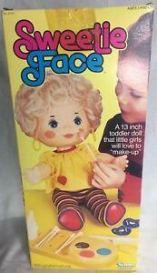 Vtg-Kenner-13-034-Sweetie-Face-Doll-New-In-Original-Box-Make-Up