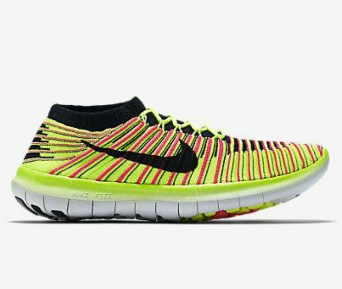 [NEU] Nike Free Run Motion Flyknit OC WMNS Gr 38,5 multi color 843434 999