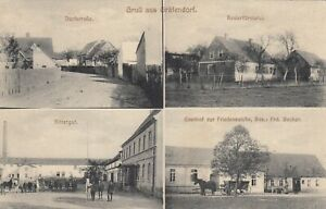 578-AK-Gruss-aus-Graefendorf-Dorfstr-Foersterei-Rittergut-Gasthof-1915-gel
