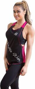Gorilla-Wear-womens-florida-stringer-Tank-Top-Black-Pink-Fitness