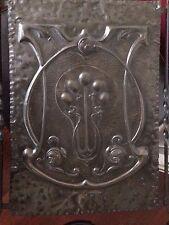 Art Nouveau Style Metal Brass(?) Fire Screen