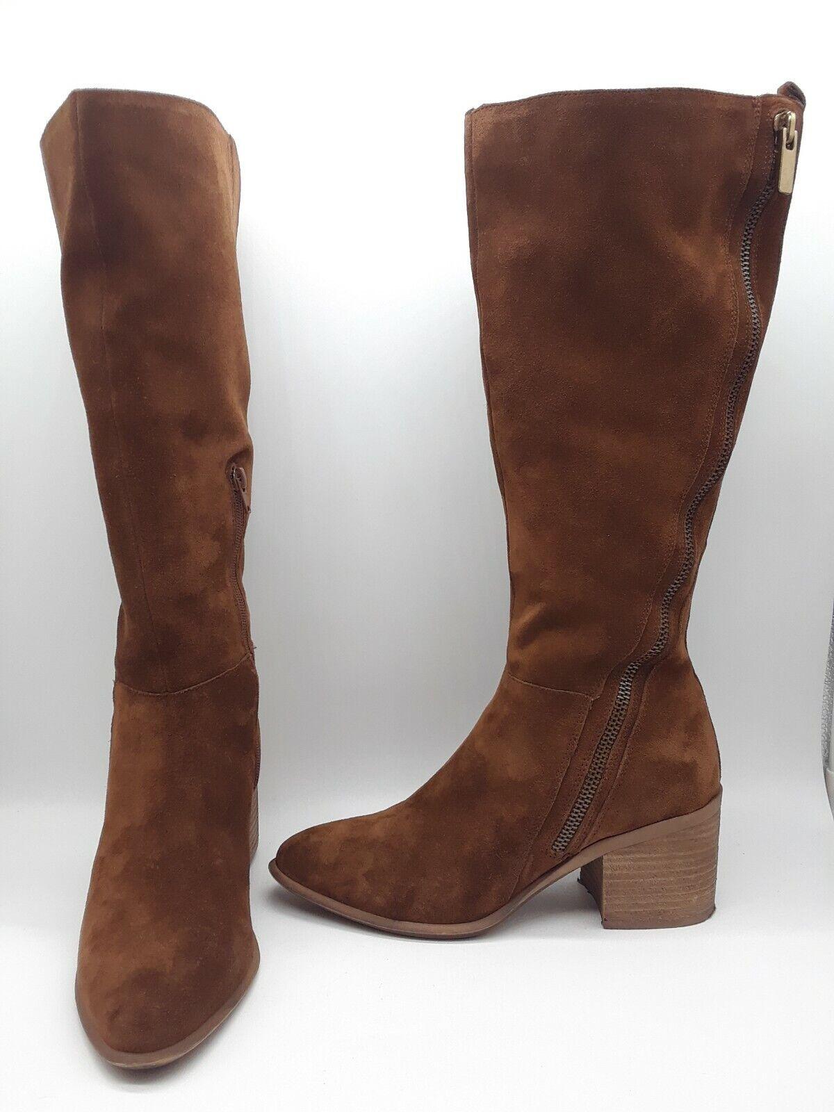 Carlos by Carlos Santana Ashbury Women shoes Riding Boots Mustang Sz 9.5 M