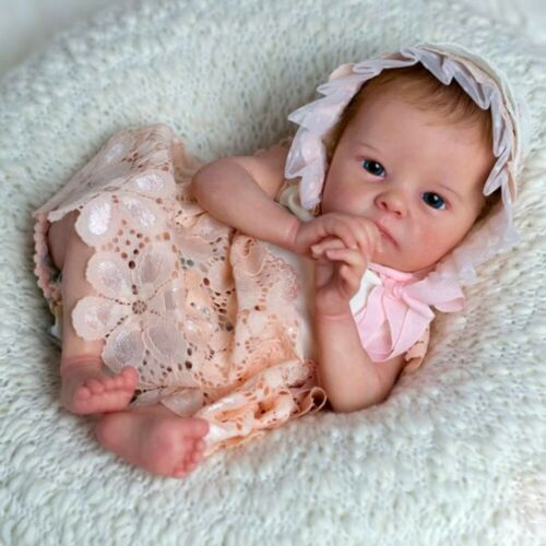 18inches Reborn Baby Doll Lifelike Newborn DIY Kit Vinyl Unpainted Unfinished