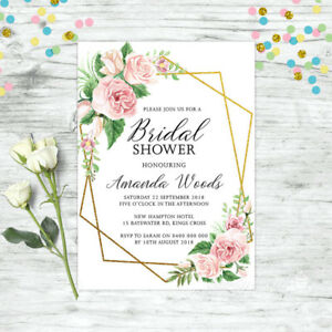BRIDAL-SHOWER-INVITATIONS-PERSONALISED-FLORAL-INVITE-PINK-HIGH-TEA-FLORAL-HENS